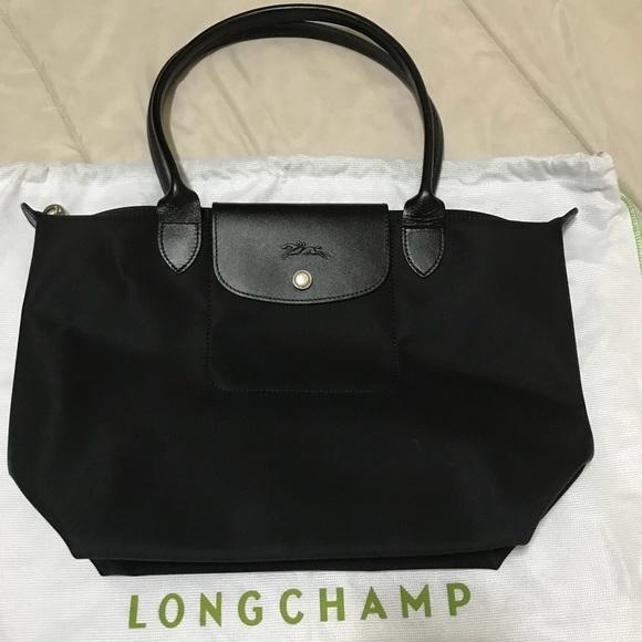 cdabc563c89d Longchamp Handbags - Longchamp Le Pliage Neo long handle small tote.